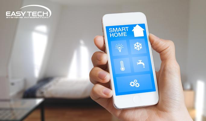 domotica e smart home per una casa intelligente. Black Bedroom Furniture Sets. Home Design Ideas